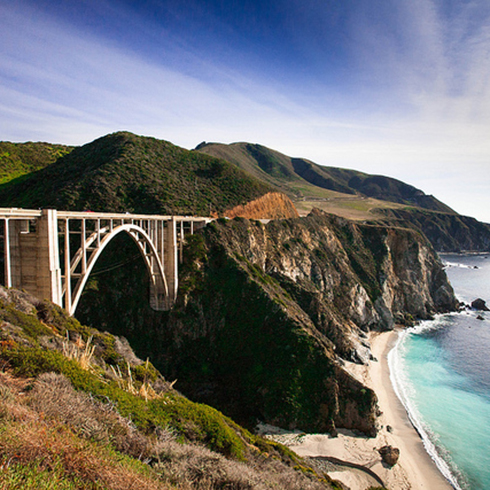 La costa Big Sur