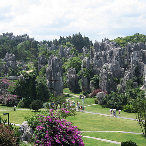 Shilin Stone Forest,  en China